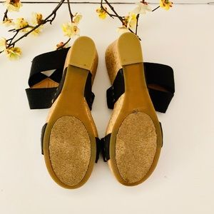 Lucky Brand Shoes - Lucky brand Marina wedge cork shoes Sz9 🌺🌺🌺